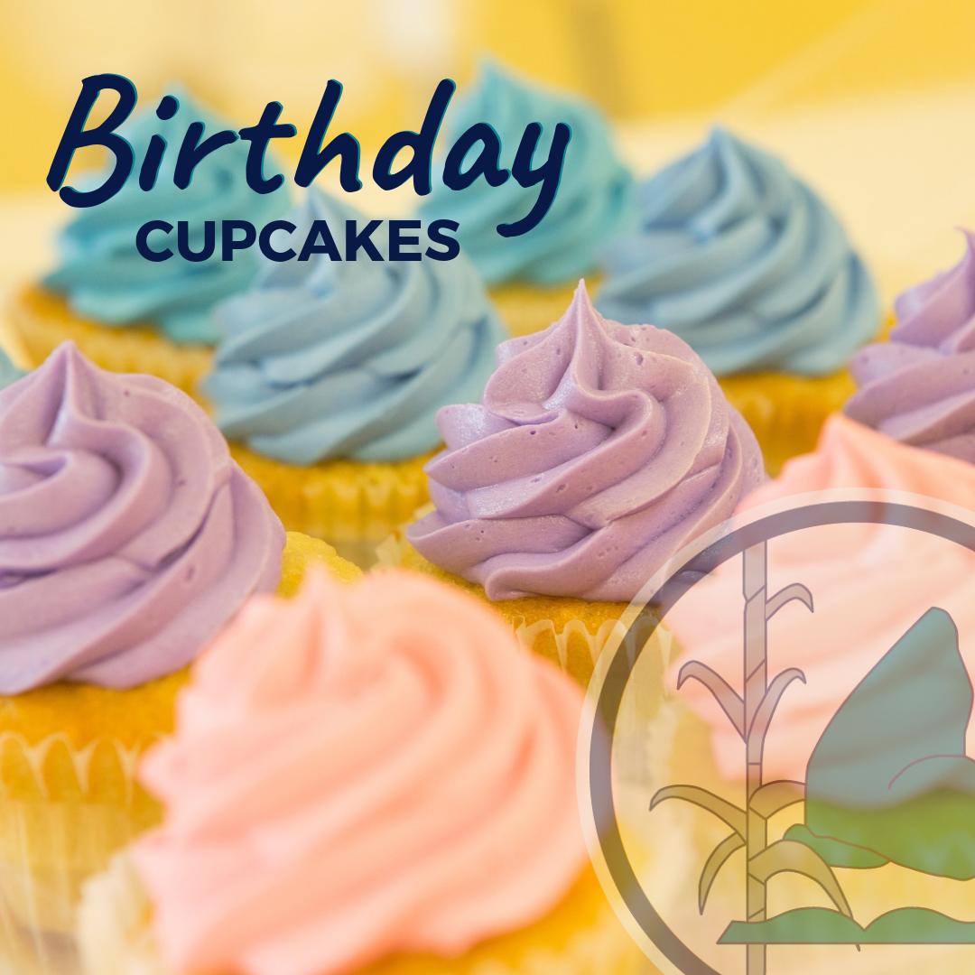 Birthday Cupcake Order form