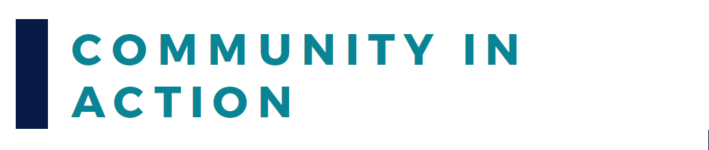 Community In Action Banner