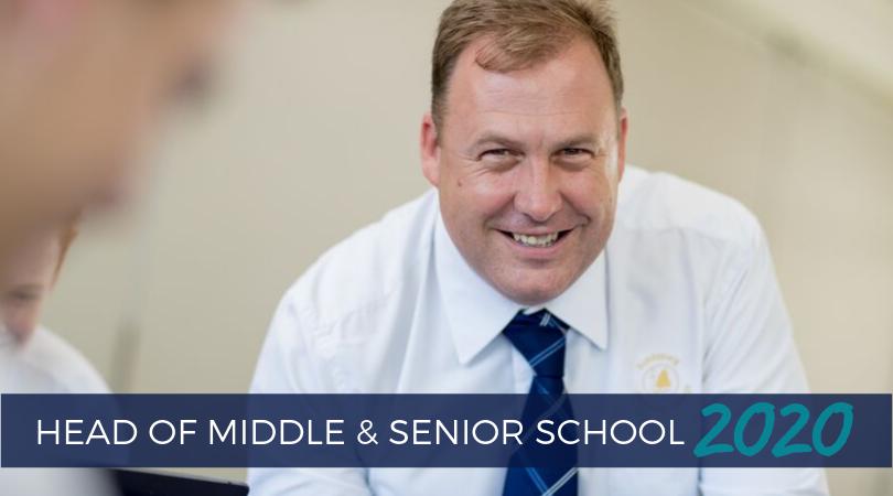 Head Of Middle Senior School 2020