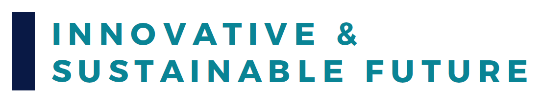 Innovative Sustainable Future Banner
