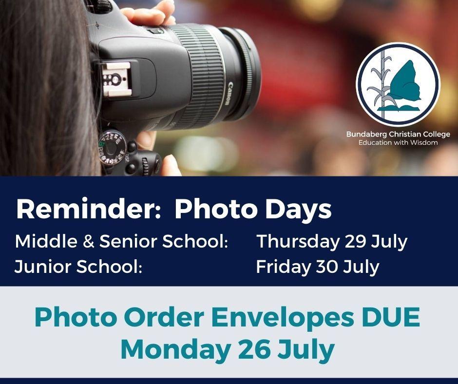 Photo Day Reminder 2021