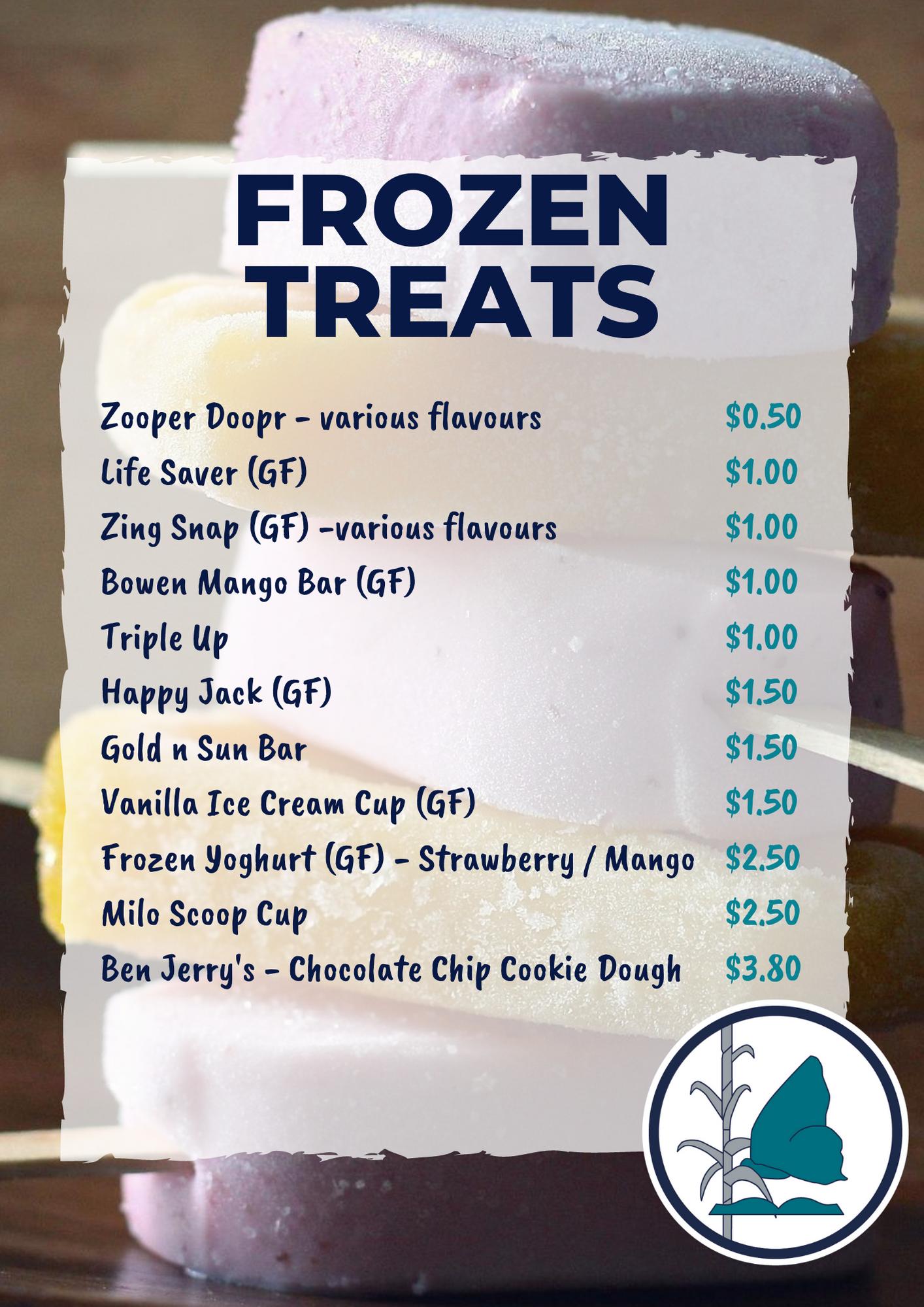 Rise Cafe Frozen Treats