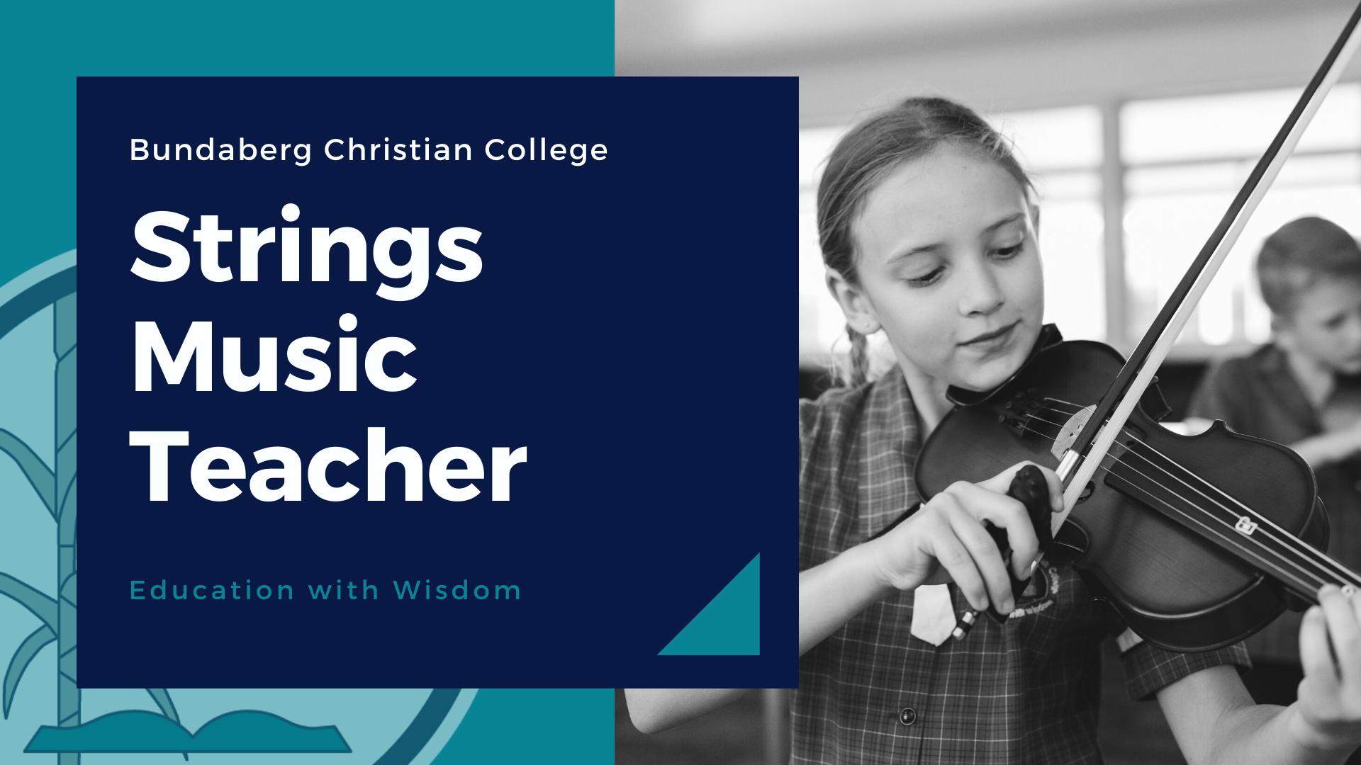 Strings Music Teacher