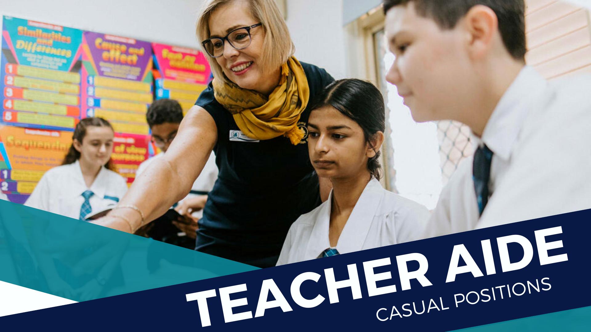 Teacher Aide Positions