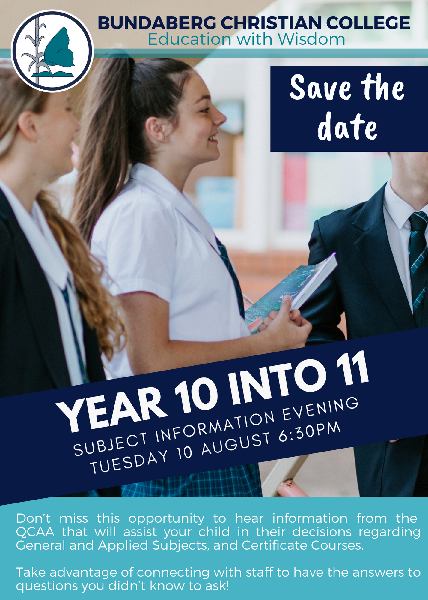 Year 10 Into Year 11 Subject Information Evening