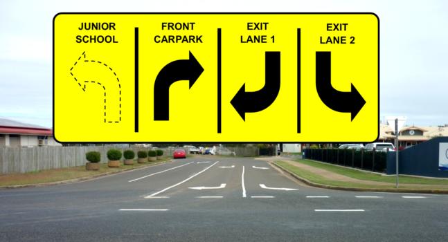 Entrance Line Markings