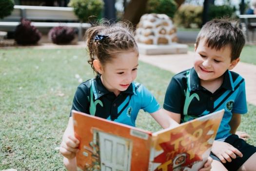 Prep Students Reading
