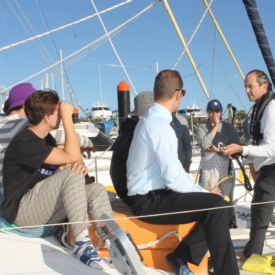 Science Under Sail Boarding
