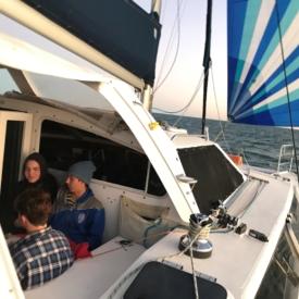 Sleep On Board Under Sail
