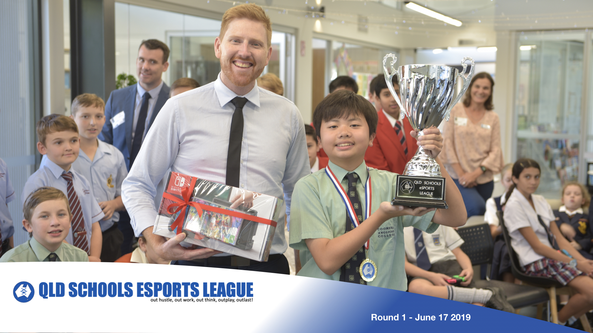 Kyle Ng takes out Round 1 - Queensland Schools eSport League