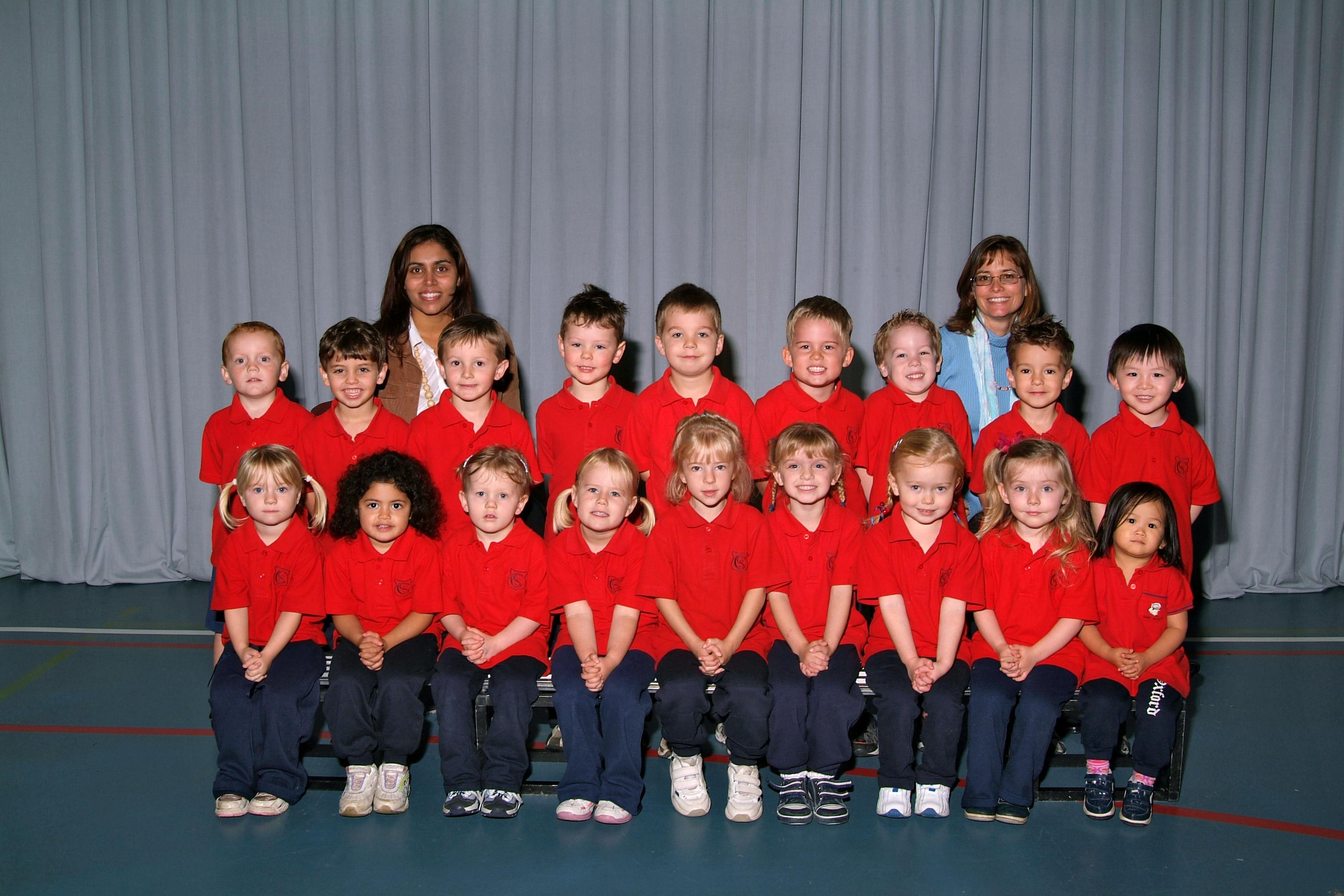 Covenant Christian School first preschool class
