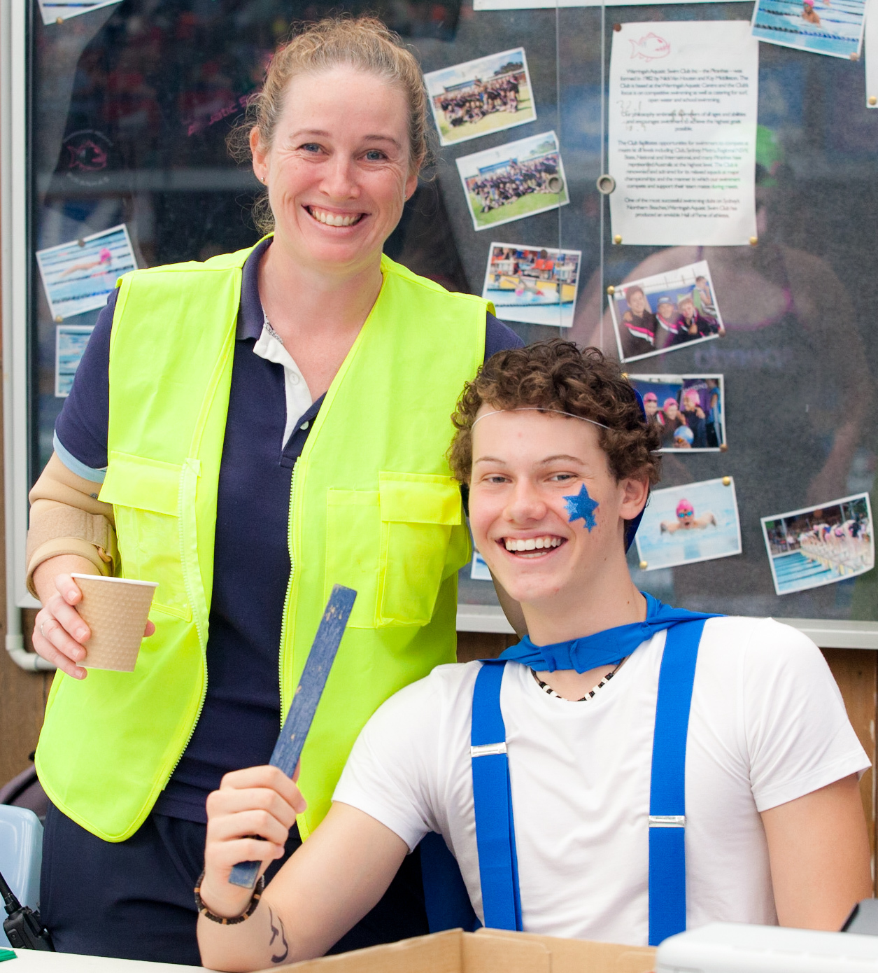 Pastoral care at the Secondary Swimming Carnival