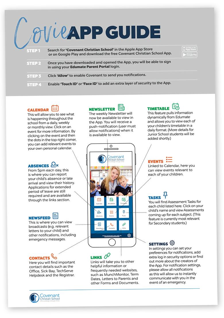 Covie App Guide