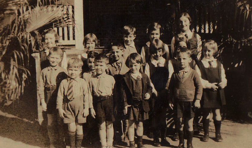 Clayfield College Students - Term 2 1931