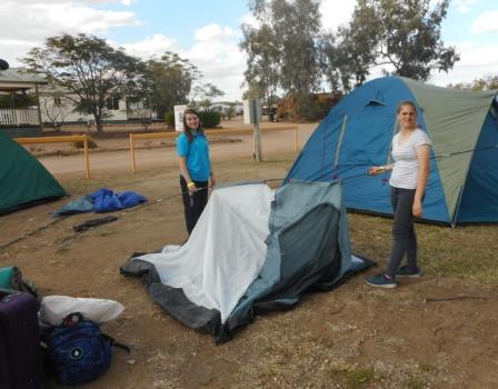 Oc Tent Down