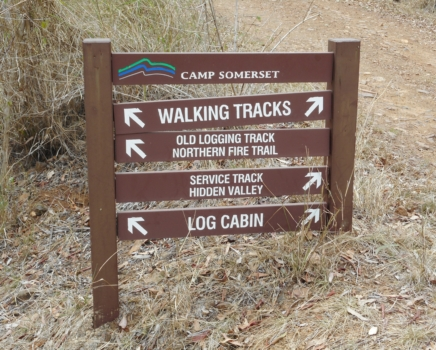 Walking Track Sign Edit