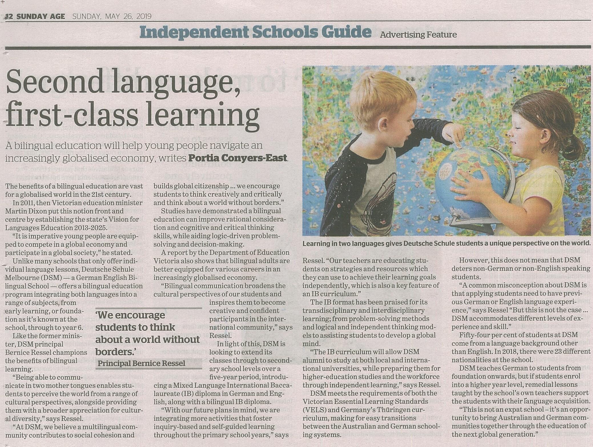 Independent Schools Guide - Deutsche Schule Melbourne