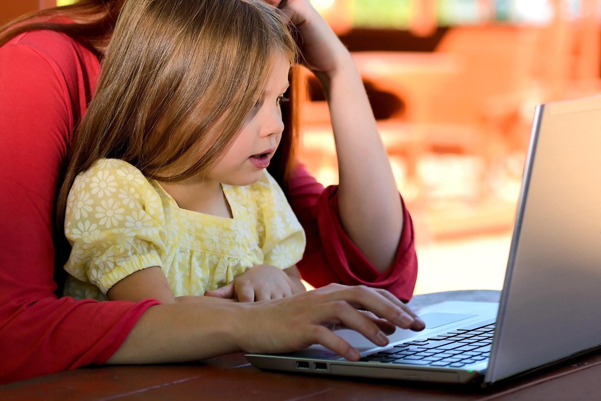 child computer cute 159848