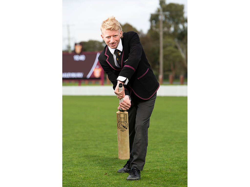 News - Cricket Champions - Zac Grech