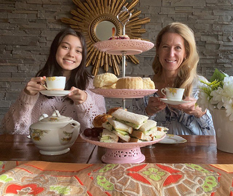 2020 May Morning Tea @ Home Self Tea 12
