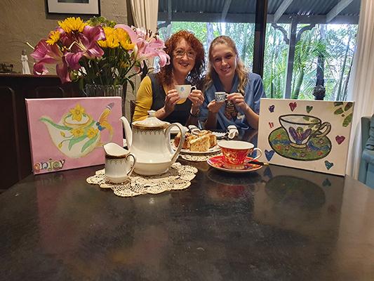 2020 May Morning Tea @ Home Self Tea 47