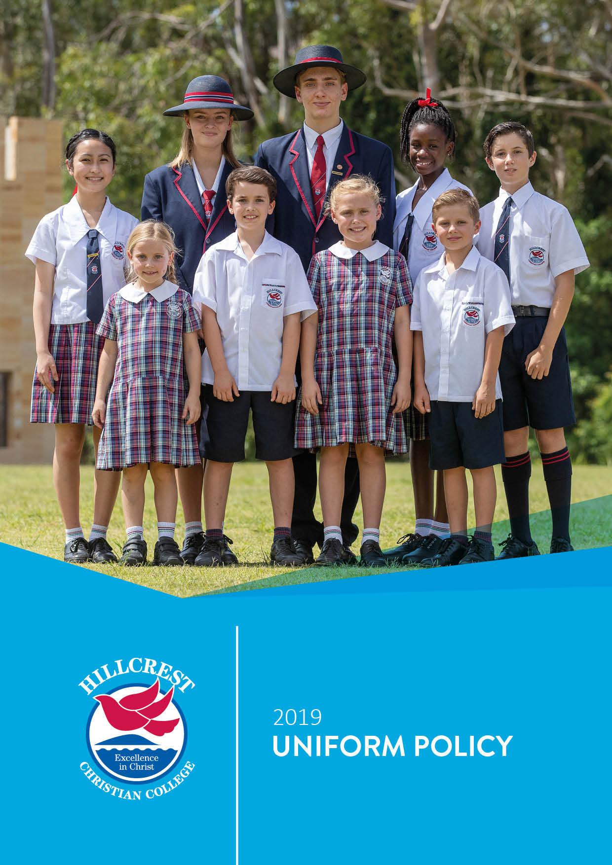 2019 Uniform Policy