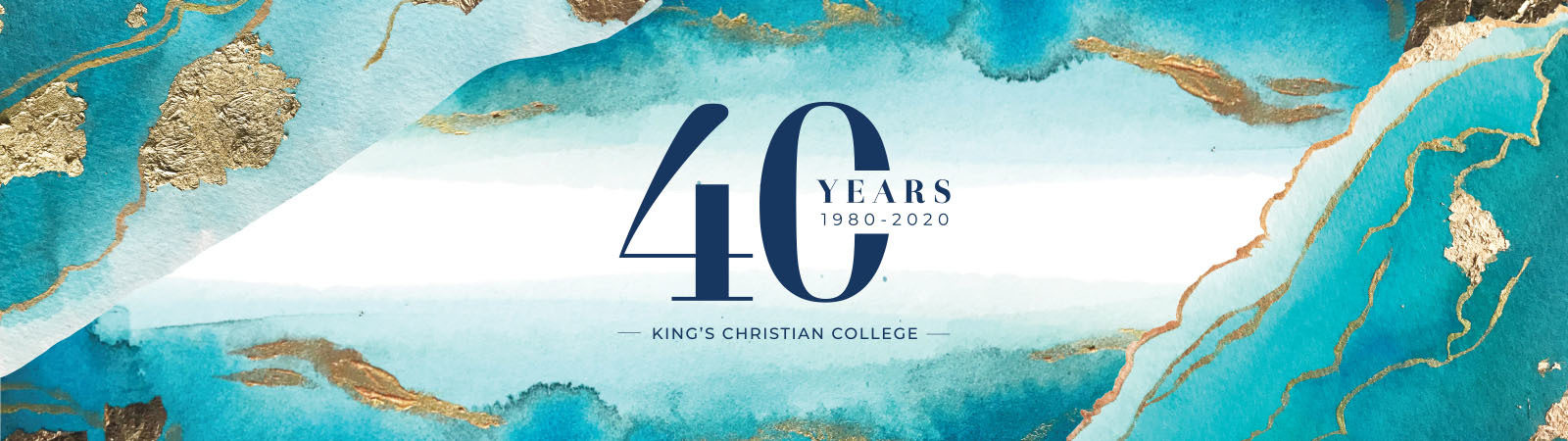 40 Years of King's Christian Education