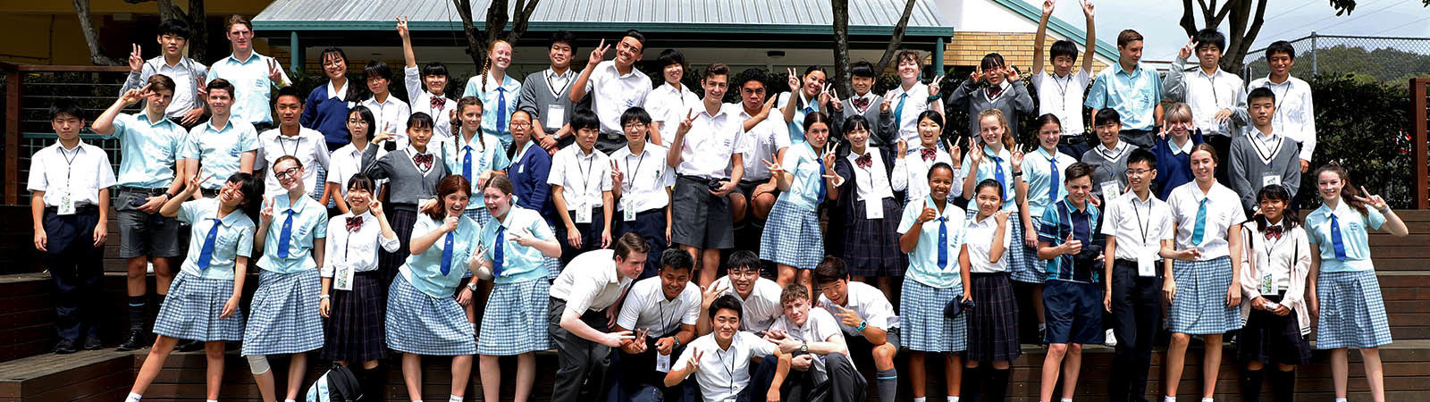 King's international and Australian students