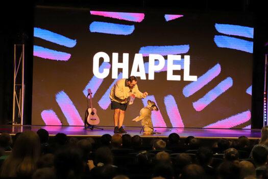 Chapel Dog Stage