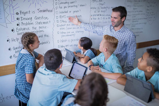 Pbl Teacher Kids Whiteboard