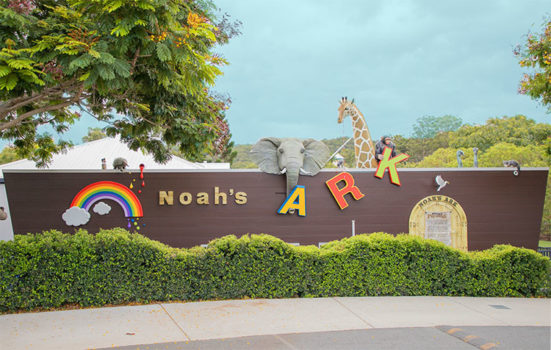 Noahs Ark Exterior