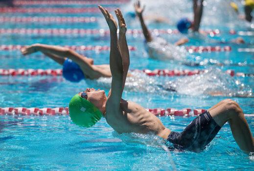 Hs Swim Carn Boy Backstroke