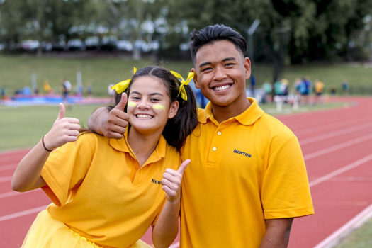 Athl Carn Boy Girl Yellow