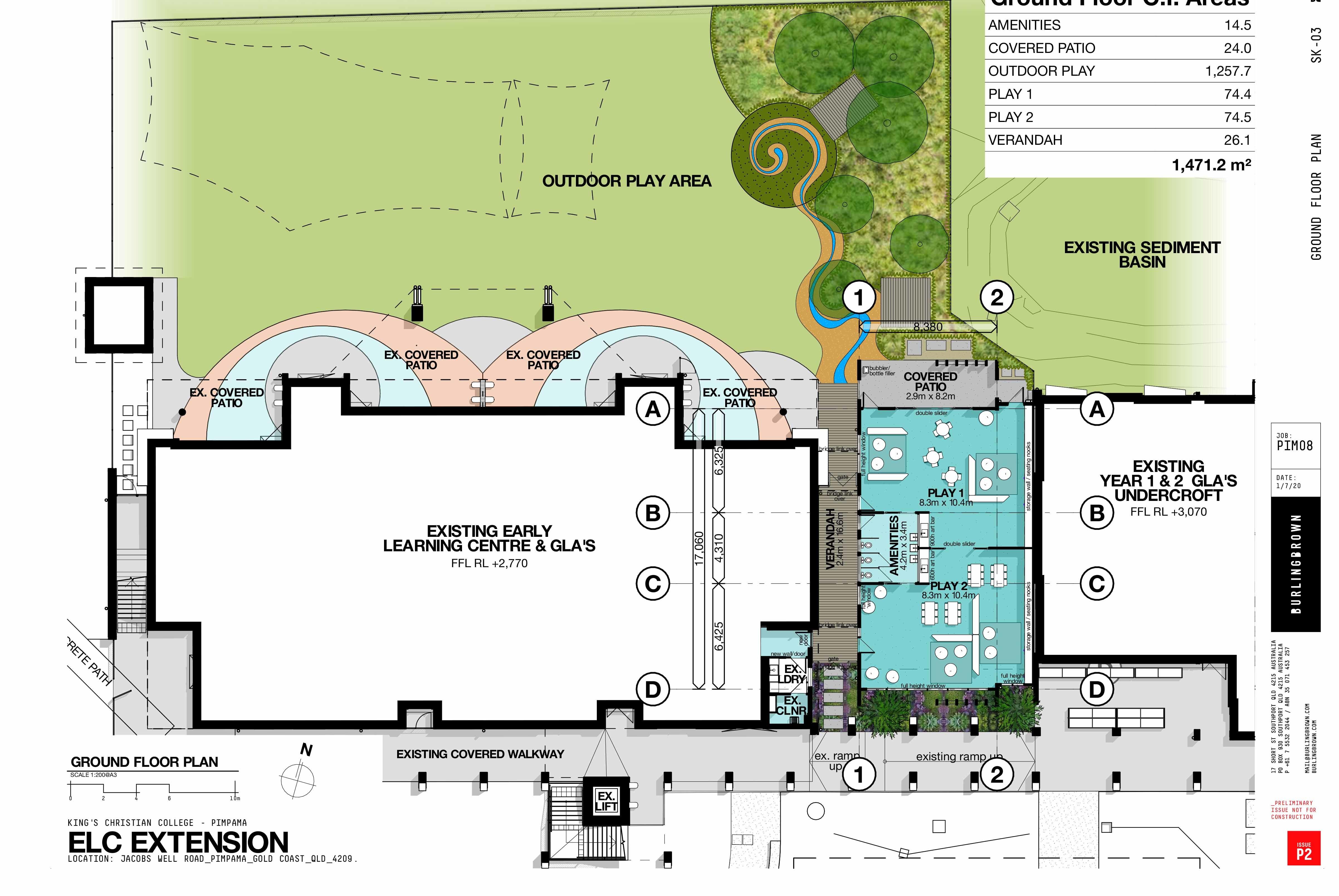 Ground Floor Plans ELC at KPC
