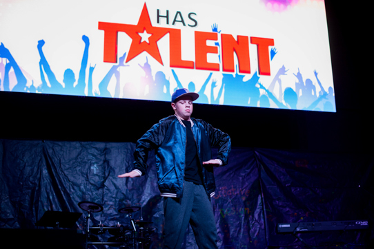 King's Has Talent 2018 entrant