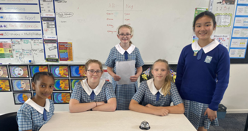 King's Pimpama Debating Students