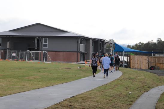 Tour of High School building