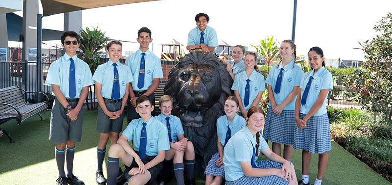 King's Pimapama's first Middle School Leaders