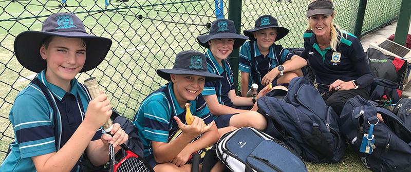 King's Tennis squad