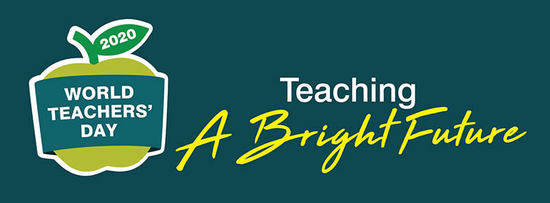 World Teachers Day logo