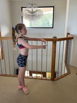 Siena Mower Doing Ballet