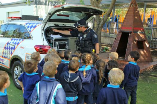 Noahs Ark Police Visit July 17
