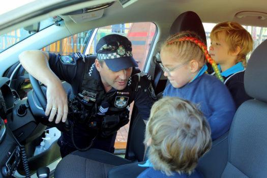 Noahs Ark Police Visit July 2
