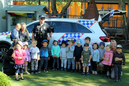 Noahs Ark Police Visit July 4