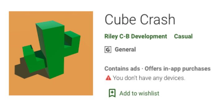 Cube Crash Google Play