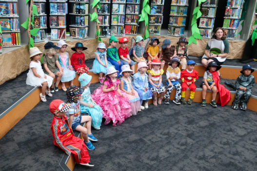 Book Day Character Dress Up Library 7