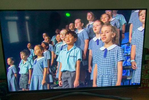 Kings Choir On Channel 7 2020 3