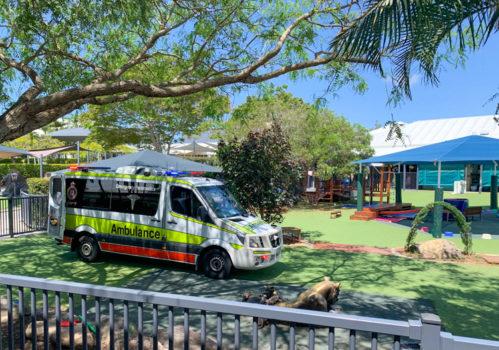 Noahs Ambulance Visit Term 4 2020 2