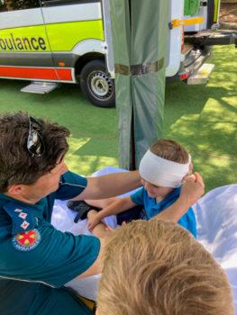 Noahs Ambulance Visit Term 4 2020 4