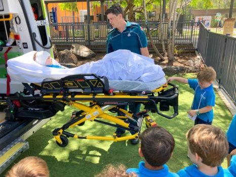 Noahs Ambulance Visit Term 4 2020 5